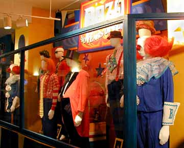 The Costume Exhibit at the Chicago MBC Museum